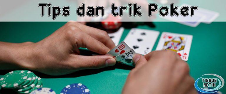 tips dan trik poker